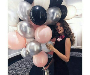 balloons, beaty, and birthday image