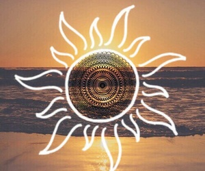 sun, beach, and summer image