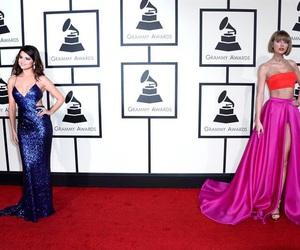 selena gomez, Taylor Swift, and grammys 2016 image