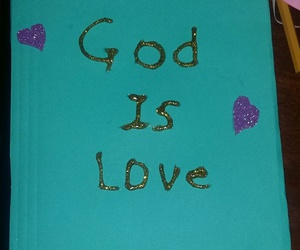 god, is, and notebook image
