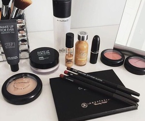 makeup, mac, and beauty image