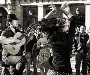 dance, girl, and music image