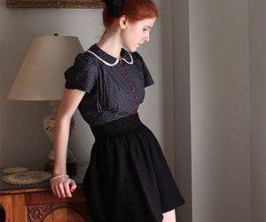 skirt and vintage image