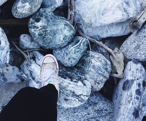 converse, hair, and hike image