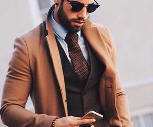 fashion, boy, and man image