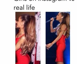 instagram, funny, and ariana grande image