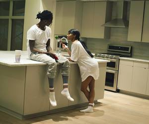 couple and young thug image