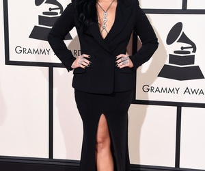 demi lovato, grammys, and red carpet image