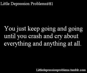 crash, cry, and depression image