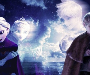 jelsa, disney, and jack frost image