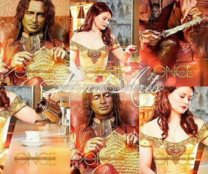 once upon a time, rumbelle, and ️ouat image