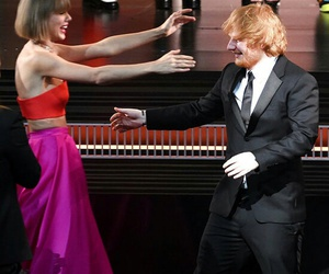 celebrity, Taylor Swift, and ed sheeran image