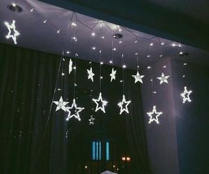 stars, light, and room image