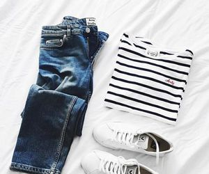 converse, cool, and outfits image