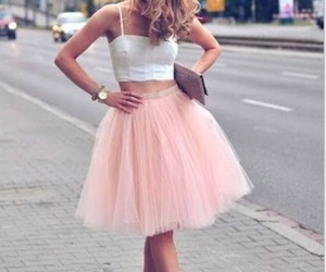 dress, pretty, and cute image