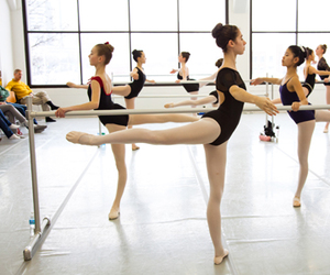 ballet, dance, and arabesque image