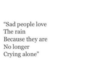 alone, sad, and crying image