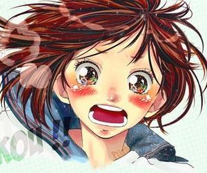 ao haru ride, anime, and futaba image