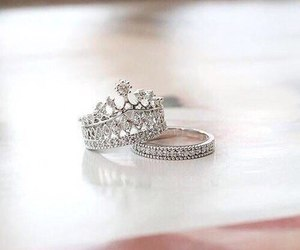 ring, rings, and wedding image