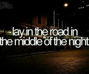 before i die, bucket list, and night image