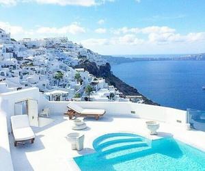 luxury, Greece, and sea image