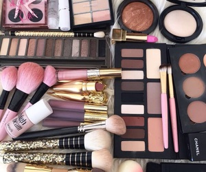makeup, cosmetics, and make up image
