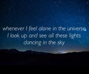 beautiful, galaxy, and Lyrics image