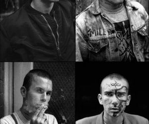 skinheads and tatoo image