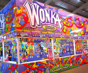 wonka, candy, and colors image