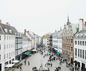 architecture, copenhagen, and hipster image