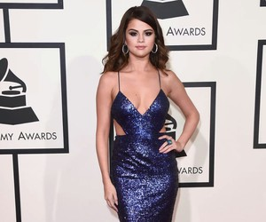 selena gomez, grammys, and dress image