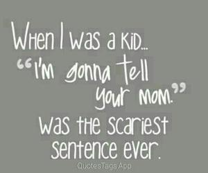 kid, funny, and mom image