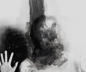 creepy, photography, and dark image