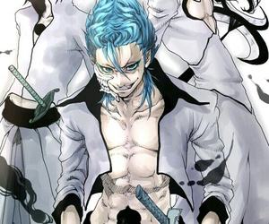 anime, bleach, and grimmjow jeagerjaques image