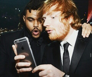 idol, ed sheeran, and the weeknd image