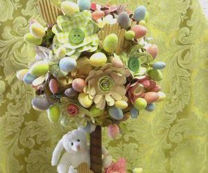 bunny, sweet, and cake image