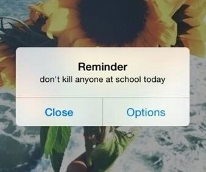 reminder, school, and wallpaper image