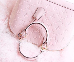 bag, girly, and Louis Vuitton image
