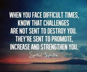 quotes, challenge, and strength image