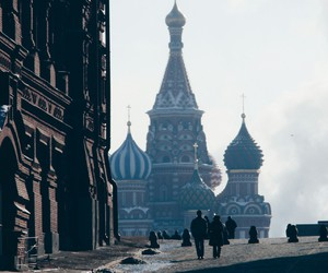 russia, russland, and travelling image