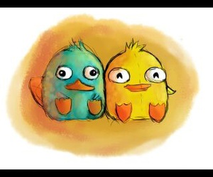 perry, cute, and ducky momo image