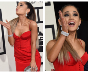 ariana grande and grammy 2016 image