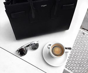 coffee, bag, and sunglasses image