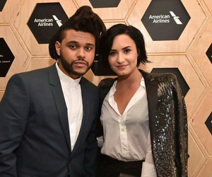 demi lovato and the weeknd image