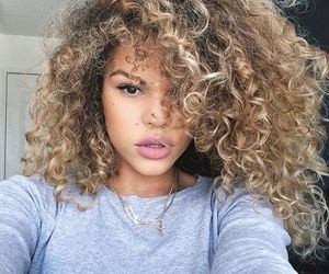 curls and hair image