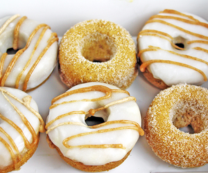 donuts, yummy, and food image