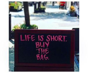 bag, quotes, and fashion image