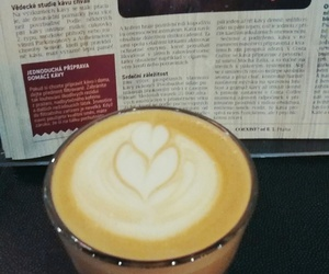 coffee, costacoffee, and latte art image