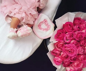 pink, baby, and rose image