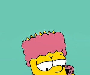 wallpaper, bart, and simpsons image